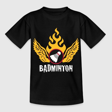 badminton_022011_b_3c - Teenage T-shirt