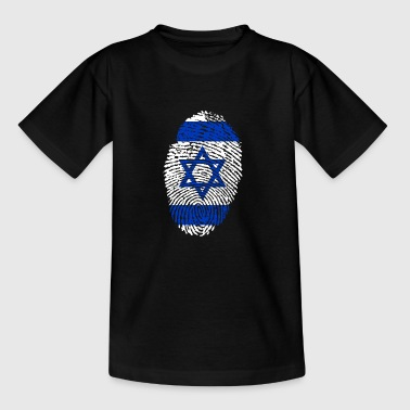 Fingeraftryk - Israel - Teenager-T-shirt