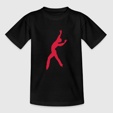 ice skating winter sport - Teenager T-Shirt