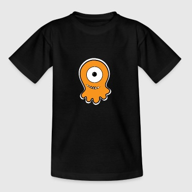 Impertinent mono-Auge Gelee-Monster - Teenager T-Shirt