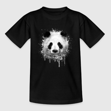 Cool Artistic Panda Portrait conception d'aquarell - T-shirt Ado