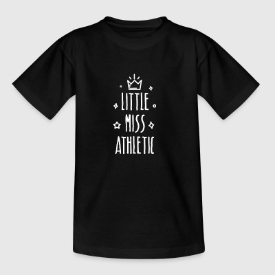 Little miss Athletic - Teenager T-Shirt