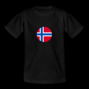 norge - Teenager-T-shirt