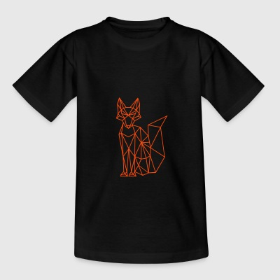 Fuchs | Fox | polygones - T-shirt Ado