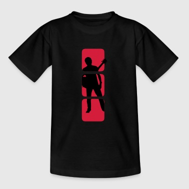 Guitarist musiker band shirts - Teenager-T-shirt
