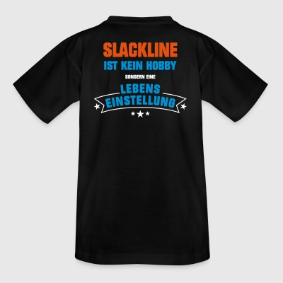Slackline Sportart - Teenager T-Shirt