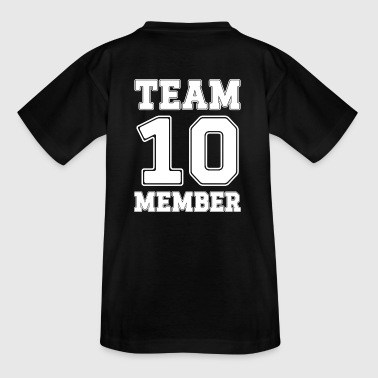 Team Member 10 - Teenage T-shirt