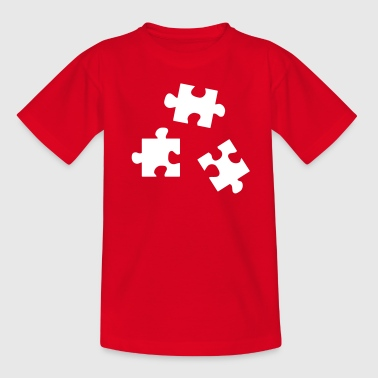 Puzzleteile - Teenager T-Shirt