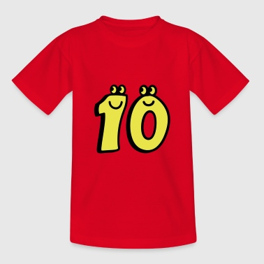 10 - Zehn - Teenager T-Shirt