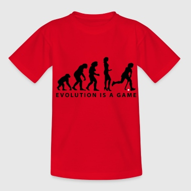 evolution hockey femme - T-shirt Ado