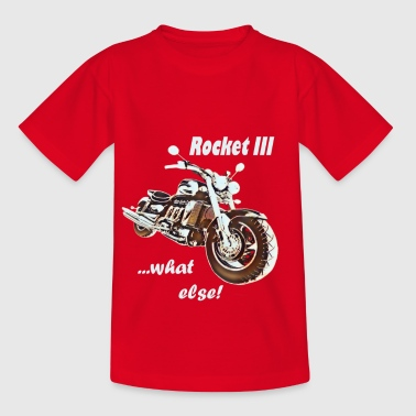 Rocket 3 Rocket 3 Motorrad Bike Biker - Teenager T-Shirt
