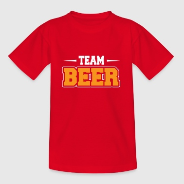 Team beer - beer - drinking - Teenage T-Shirt