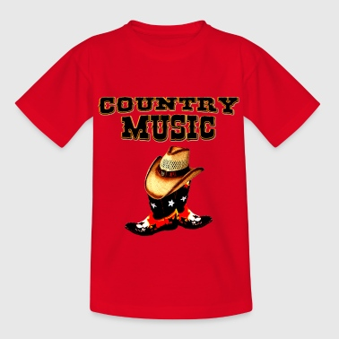 country music - Camiseta adolescente