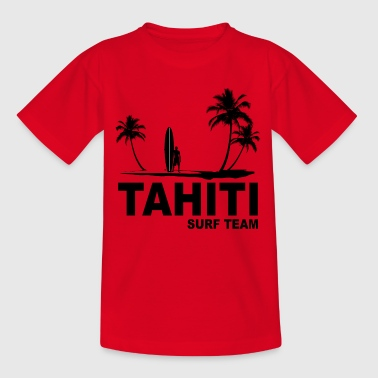 Tahiti surf team - T-shirt Ado