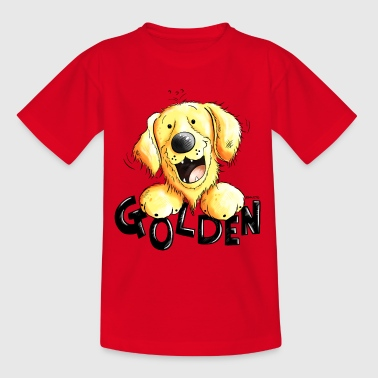 Golden Retriever - T-shirt Ado