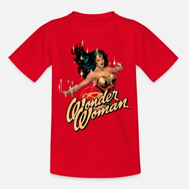 Wonder Woman Wonder Woman Shiny teenagers T-shirt - Teenager T-shirt