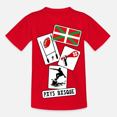 Pelote Basque basque sport and tradition 10 - T-shirt Ado