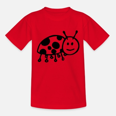 Beetle Kids Lady Beetle - Teenage T-Shirt