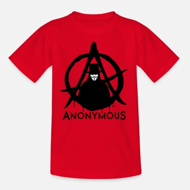 Anarchy Anonymous A 2c - Teenage T-Shirt