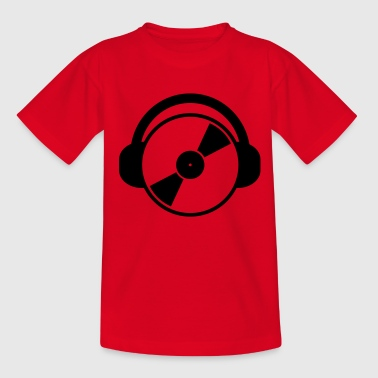 DJ Music - Camiseta adolescente