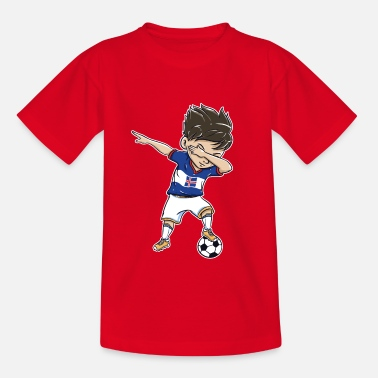 Iceland Football Football World Cup Iceland Gift Dab - Teenage T-Shirt