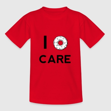 I Donut Care - Teenager T-shirt