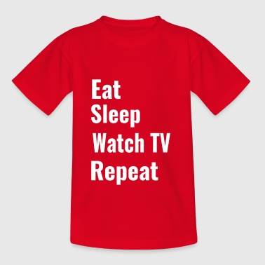 watch TV - Teenage T-Shirt