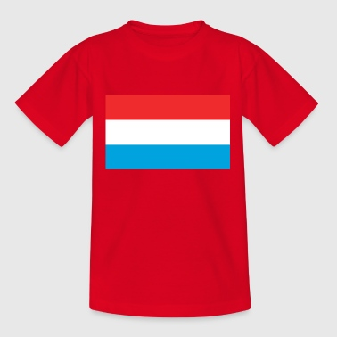 Luxembourg Luxembourg flag - Teenage T-Shirt