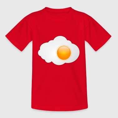 Fried egg with egg yolk - Teenage T-Shirt