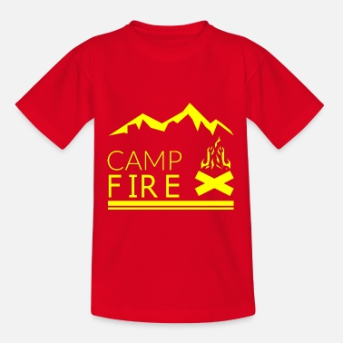 Camp-fire CAMP FIRE - Teenage T-Shirt