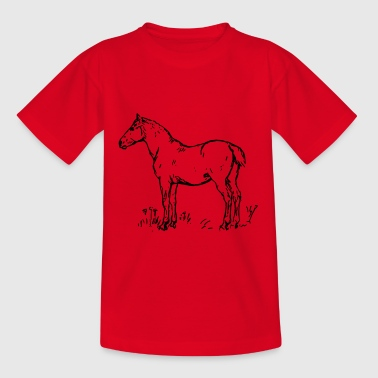 Pferd - Teenager T-Shirt