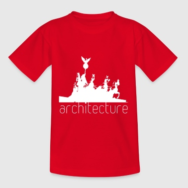 Architecture Funny Architecture - Teenage T-Shirt