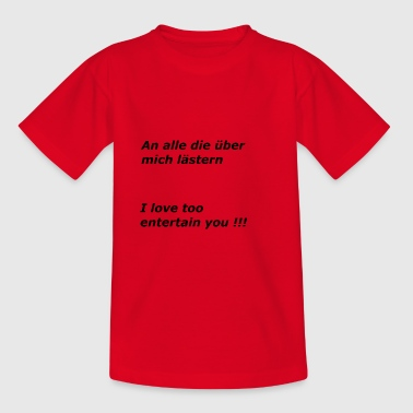 Divertissement Vous divertir - T-shirt Ado