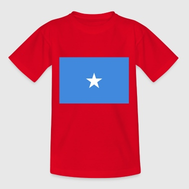 Somalia Flagge - Teenager T-Shirt