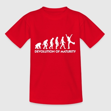 The Evolution Of Maturity - Teenage T-Shirt