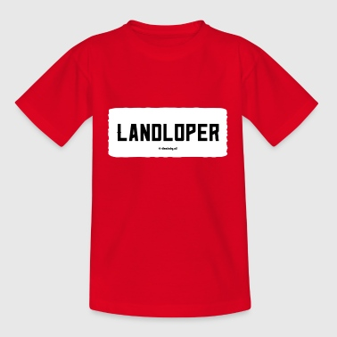 Landstreicher - Teenager T-Shirt