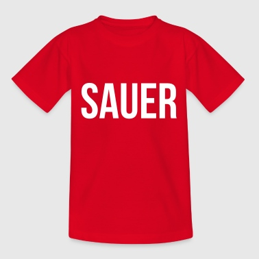 Sauer - Teenager T-Shirt