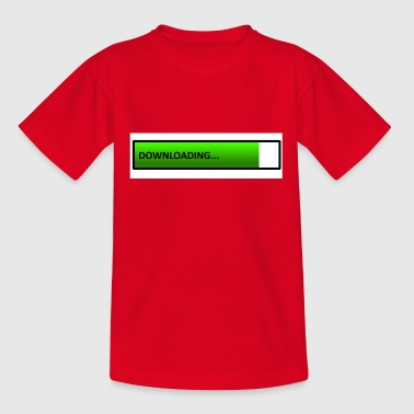 downloading - Teenage T-Shirt
