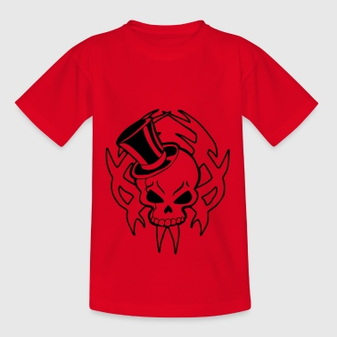 Snazzy snazzy skull - Teenage T-Shirt