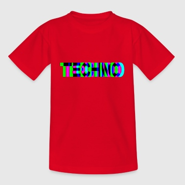TECHNO DJ Raver EDM - Teenager T-Shirt