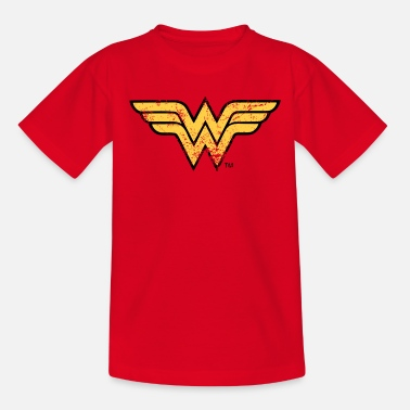 Wonder Woman Wonder Woman Logo vintage - Teenager T-shirt