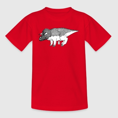 Triceratops Triceratops - Teenager-T-shirt