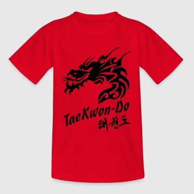 Taekwondo Dragon - Teenage T-Shirt