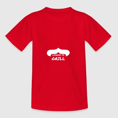 Licence pour Grill - T-shirt Ado
