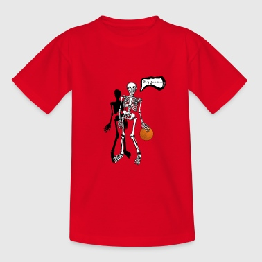 skeleton my game - Teenage T-shirt