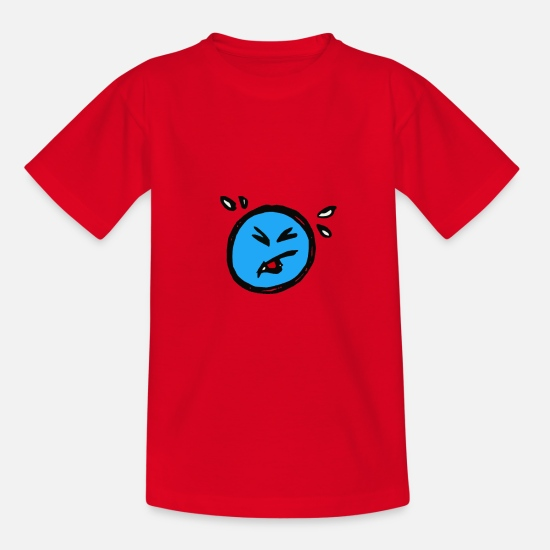 Smiley T-shirts - Smiley - T-shirt Ado rouge