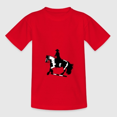 Tinker galop I Stange - Teenager T-shirt