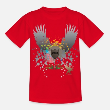 2950 Vedbæk - wings - Teenager-T-shirt