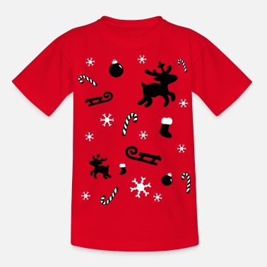 Grappige christmaskerfuffle christmas gift - Teenager T-shirt
