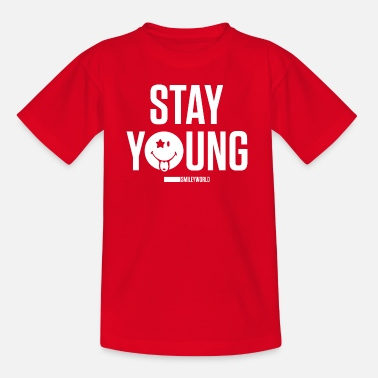Stay Young SmileyWorld Stay Young - Teenage T-Shirt